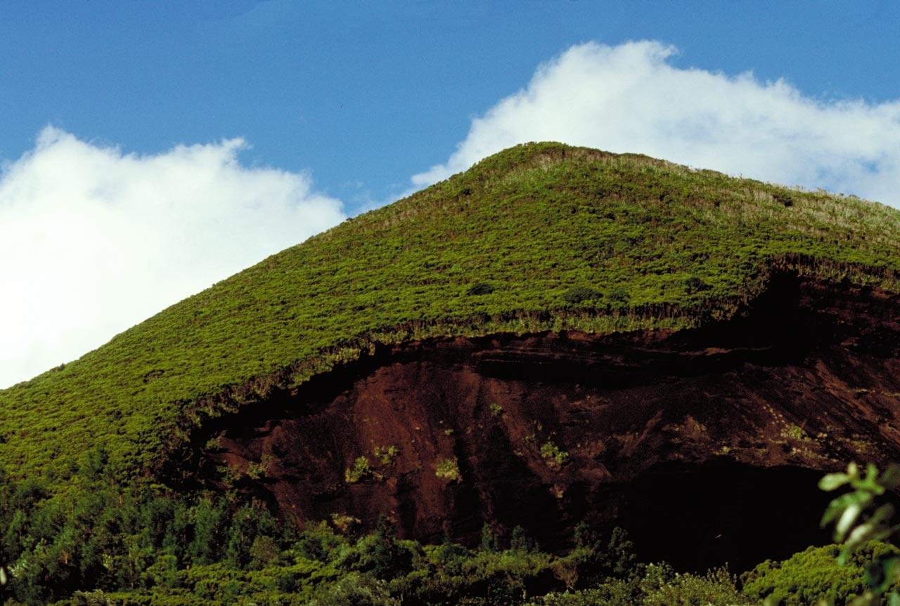 Cabeço Verde na ilha do Faial